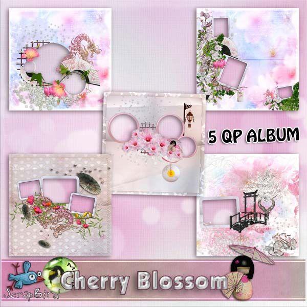 Cherry Blossom QP ALBUM by Marie