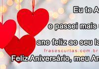 Frases de Feliz Aniversário meu Amor