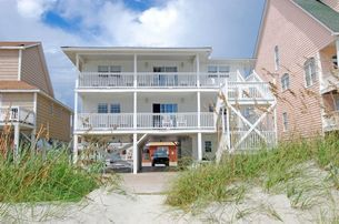 Sea Aire II is an Oceanfront Pet Friendly Beach House Rental in the Cherry Grove Section of North Myrtle Beach, SC.
