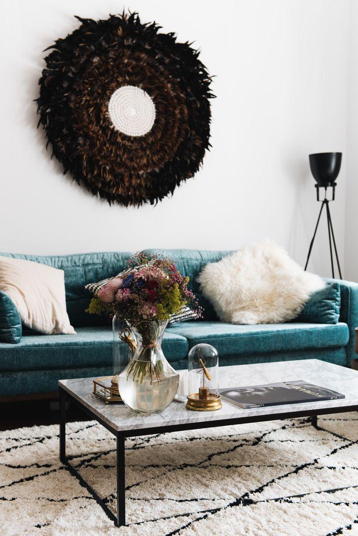 87 best wohnzimmer einrichtungsideen images on pinterest | sofas ... - Wohnzimmer Couch Schwarz