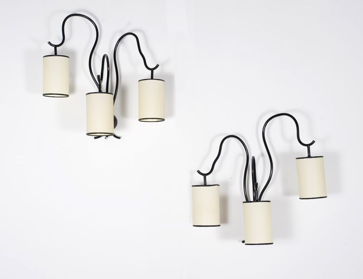 Jean ROYÈRE (1902-1981) Standing Lamp Gold Painted Metal Editions SA 25 x 25 x 73.5 in. - 63 x 63 x 186.5 cm.
