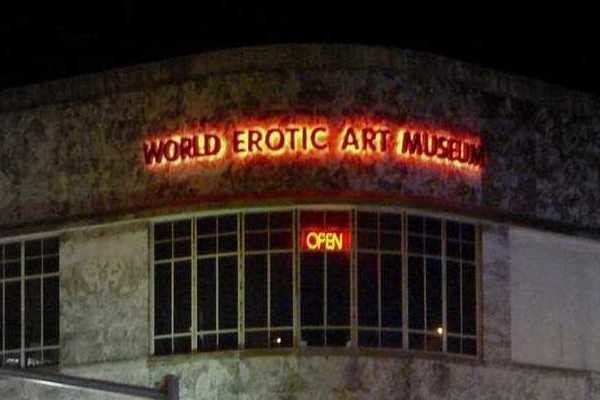 12,000 sq. ft. museum tracing erotic art from antiquity to modern times.