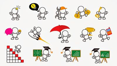 Free Clip Art Package for Business Presentation and Marketing Activity (Version121313)
