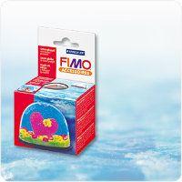 "Fimo основа для ""Снежного шара"" овальная (Snow Globe oval)"