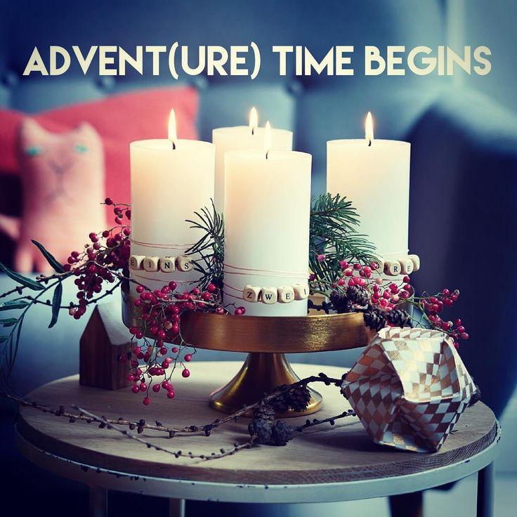 """""""Advent, Advent, ein Lichtlein brennt... Spätestens jetzt geht's los mit Glühwein, Keksen und """"Last Christmas""""-Dauerschleife. Falls euch noch der passende…"""""""