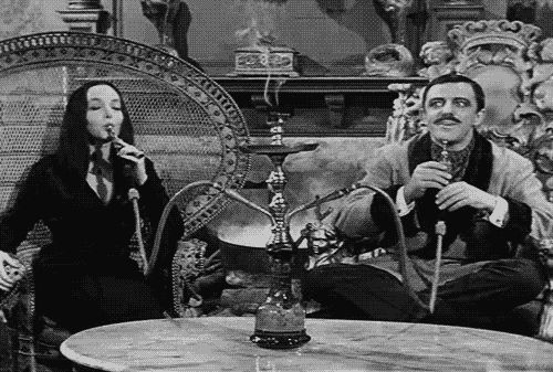 They know how to have fun together. | Gomez And Morticia Addams Have The Best Marriage Ever