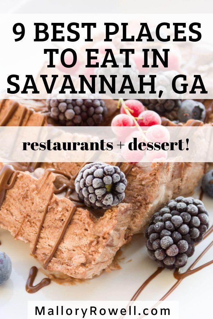 Where To Eat In Savannah Georgia Savannah Chat Savannah Georgia Food Travel Savannah