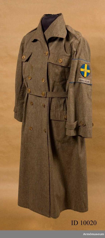 Kappa/överdragsrock m/1926, Sveriges Landstormskvinnor.
