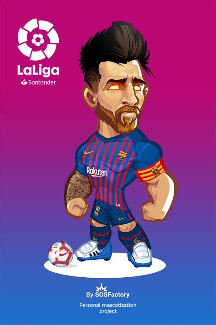 300 Mascot Designs Challenge Fotos De Messi Dibujos De Futbol Gifs De Futbol
