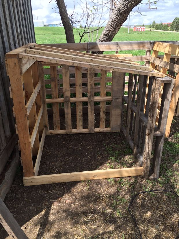 Finest pallet goat house easy and low cost with maison low for Maison primareve