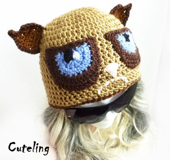 106 best grumpy cat hat images on pinterest cat hat. Black Bedroom Furniture Sets. Home Design Ideas