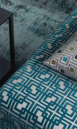 Urban Geometrical & Strip Fabric Designs by Home Fabrics