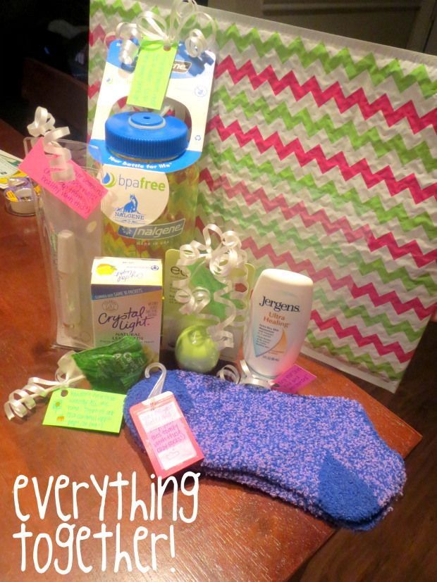 A Pregnant Mom Care Package