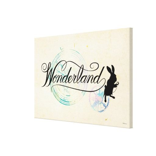The White Rabbit | Wonderland 2 #canvas #print