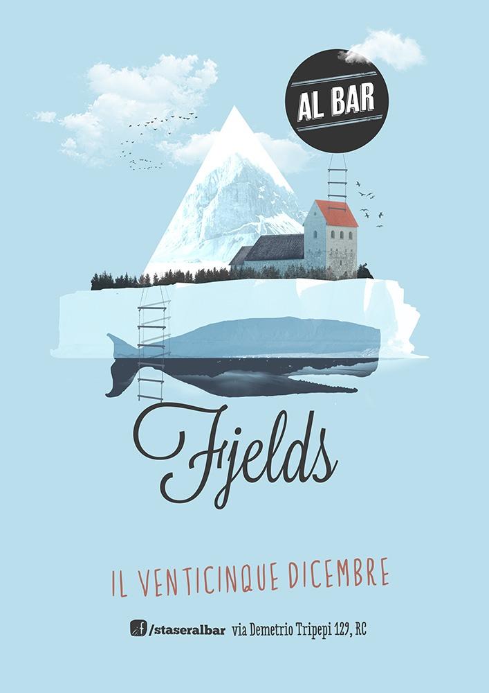 Fjelds (http://www.myspace.com/fjelds) live at Al Bar (poster)