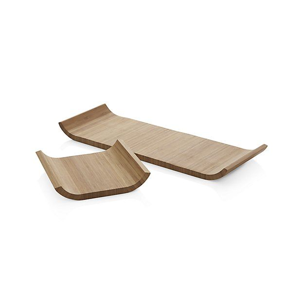 Shop Crate and Barrel for serving platters. Browse a variety of sizes, shapes and materials including ceramic, metal, acrylic and glass serving platters. $13 and $7