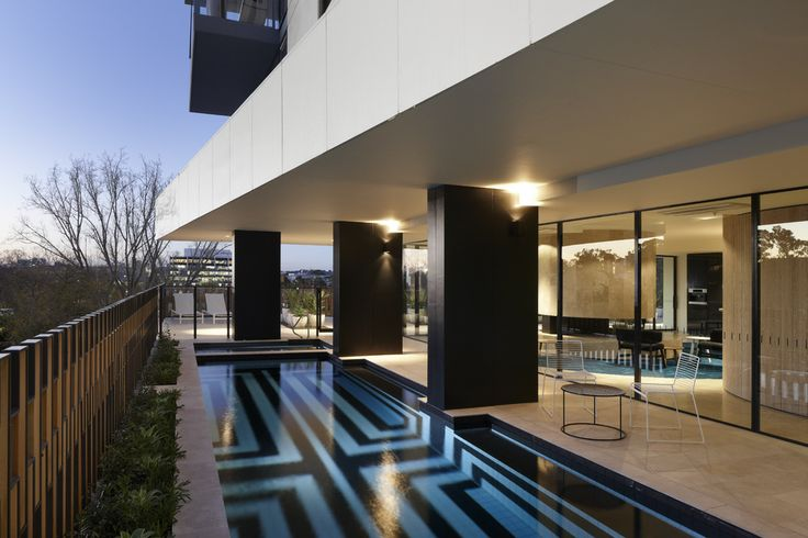 Lap Pool. The Claremont - Bird de la Coeur Architects Photo Dianna Snape