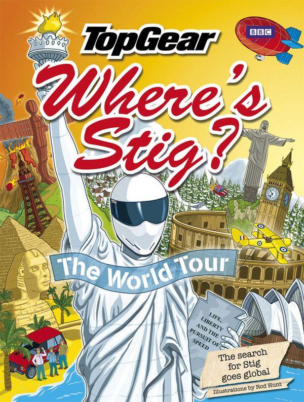 Top Gear - Where's Stig? The World Tour by Rod Hunt, via Behance