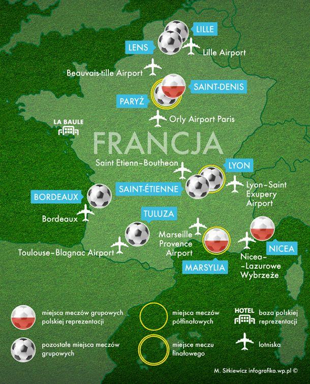 Podczas piłkarskich mistrzostw Europy 2016, reprezentacja Polski stacjonuje w przepięknej miejscowości - La Baule. Leży na Miłosnym Wybrzeżu (Cote d'Amour) nad Oceanem Atlantyckim. Choć nie jest ono tak znane jak lazurowe, to ma sporo do zaoferowania.