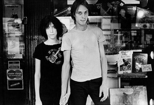 Patti Smith and Tom Verlaine (3) ... Follow - > www.songssmiths.wordpress.com Like -> www.facebook.com/songssmithssongssmiths