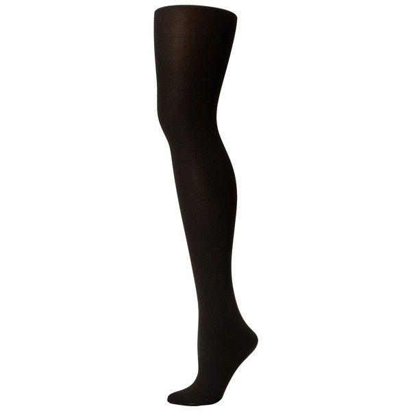Spanx Tight-End-Tights Foot Pillow Hose ($13) ❤ liked on Polyvore featuring intimates, hosiery, tights, black, spanx hosiery, long stockings, holiday stockings, spanx tights and holiday tights