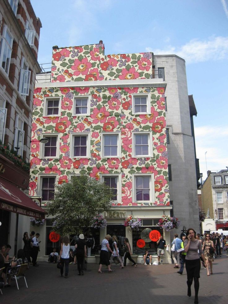 Wonder what my house would look like with a flower exterior wallpaper!!  Photoshop here I come!