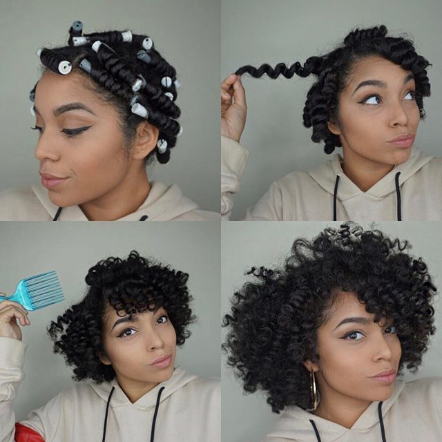 Have you watched this 'Cheat a Bantu Knot Out using Perm Rods' Tutorial?! It's live on my YouTube channel. Link in my bio. . . Started on dry stretched hair. Applied @fortifydnaturals Leave In + Intense Hydrating Potion Rolled hair on to rod Let hair dry Unraveled rods and separated the sections of hair Fluffed roots with hair pic to add volume to the look. ✨ If you're wondering on how I preserve my curls this, I have a video on my channel that gives different suggestions on how to preser...