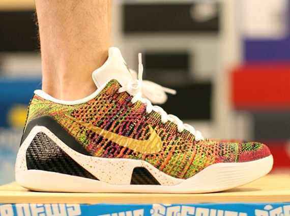 NIKEiD Brings Back Multicolor Flyknit for Kobe 9 Elite Low