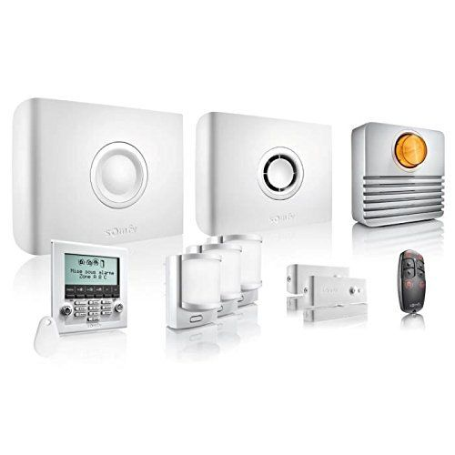 Système d'alarme sans fil Somfy Protexiom 600 GSM Zones d'alarme (sans fil) 3: Cet article Système d'alarme sans fil Somfy Protexiom 600…