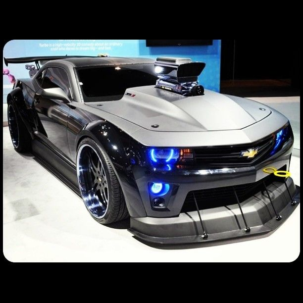 Mean Camaro 'Turbo' Concept