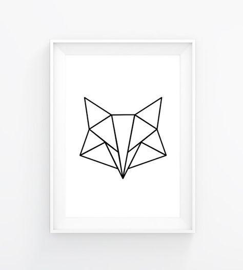 Minimalist fox