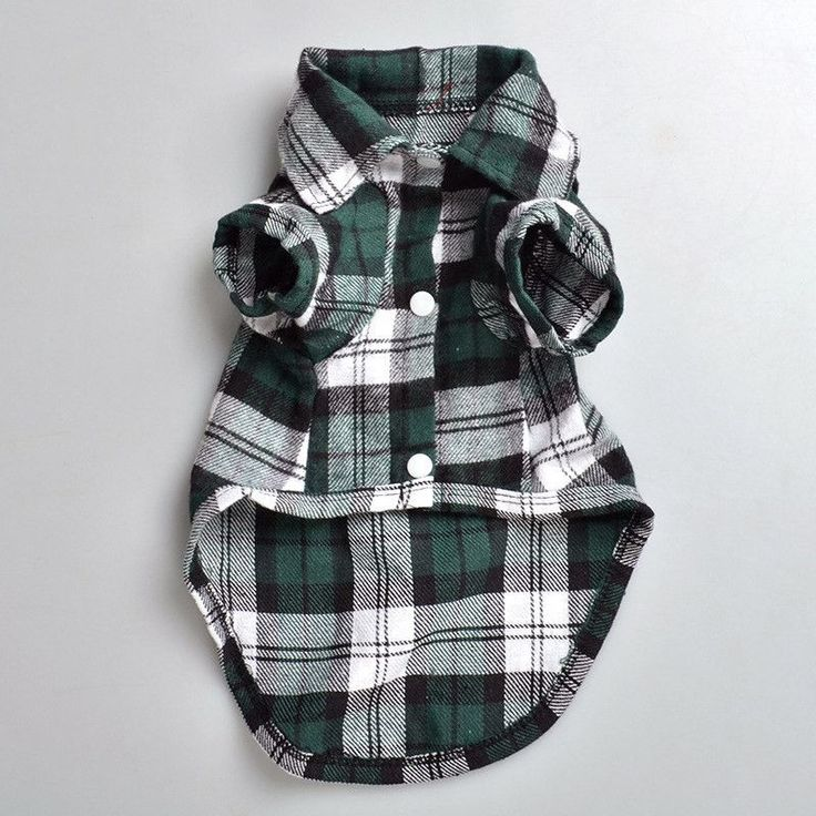 Nicky says: This Plaid Checker Dog Shirt is eye catching and will have everyone at the park admiring your dog. Material: 100% Cotton Pattern: Plaid Please note:To provide our customers with the best v