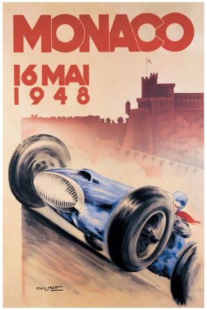 Vintage Race Posters, Vintage Racing Posters, Vintage Auto Posters and Prints