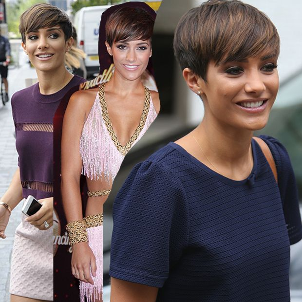 Reverting back to her shorter locks with this pixie haircut, Frankie Bridge is dominating Strictly this year!