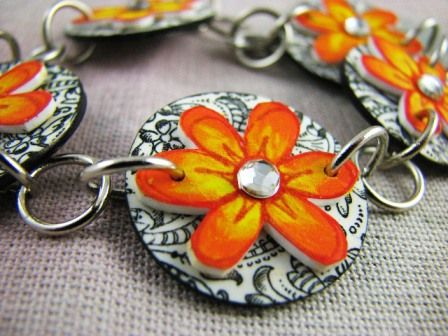 How to Make Shrink Plastic Jewelry - using stamps!