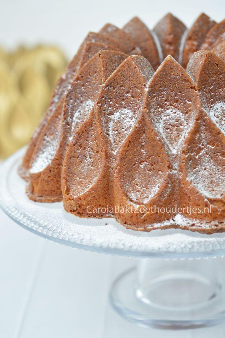 Vanillecake met gecondenseerde melk Crown Nordic Ware