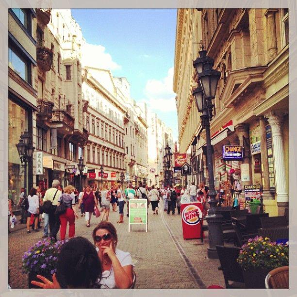 Váci utca in Budapest, Budapest