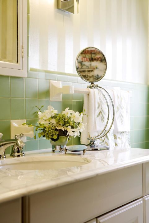 "To add positive energy (also known as chi) place mirrors around your home — but remember to avoid ones with sharp edges. ""This will not only help you create more positive energy in your decor, but it will also help to cleanse the mind,"" says Zuravliova."