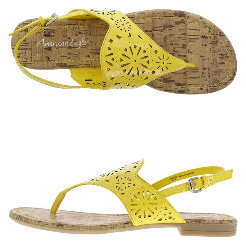 Payless Shoes Yellow Heels