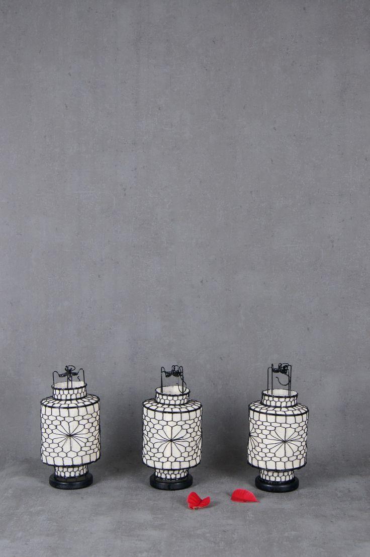 Kleine chinesische Laterne / Lampion zum Aufhängen von boheme-living.com