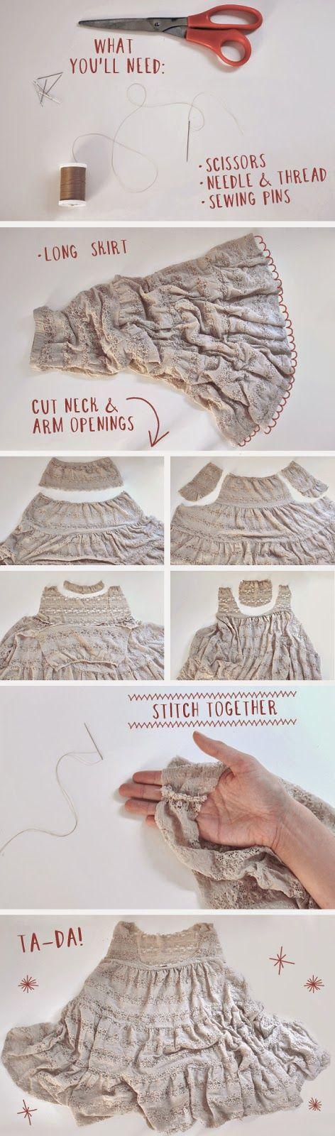 vestito-fai-da-te-DIY-Skirt-to-Slip-Dress-riciclare-una-gonna-lunga