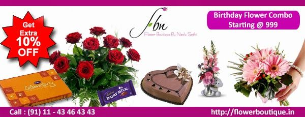 Flower Boutique - Online Flower Delivery in India: FBN Birthday Flower Delivery Services