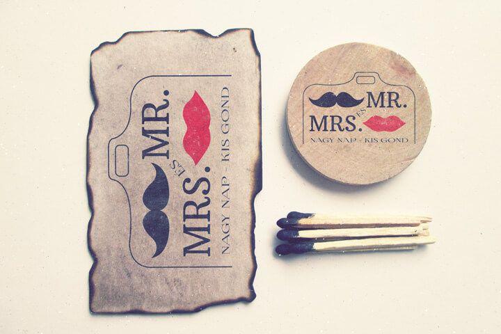 logo, vintage logo, mr. & mrs., wedding photography logo, esküvő fotózás logo,