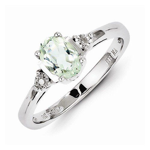 Solid 925 Sterling Silver Colored Diamond & Green Amethyst Engagement Ring (.01 cttw.) (2mm)	by Sonia Jewels - See more at: http://blackdiamondgemstone.com/colored-diamonds/jewelry/wedding-anniversary/engagement-rings/solid-925-sterling-silver-colored-diamond-green-amethyst-engagement-ring-01-cttw-2mm-com/#sthash.zYyHnwdV.dpuf