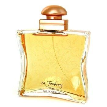 Hermes - 24 Faubourg - eau de parfum - 30ml  Hermes 24 Faubourg is een uitnodiging voor een reis naar de zon. Transparante topnoten van schitterende witte bloemen gaan gepaard met een floraal hart en zijn gehuld in iris hout en mysterie. Vanille en amber geven de toon aan haar basis. Dit parfum wiens naam het adres van Herms in Parijs is is de Herms signatuur in een fles. 24 Faubourg eau de toilette heeft de olfactieve textuur van een zonnige lichtstraal het toppunt van vrouwelijkheid. Haar…