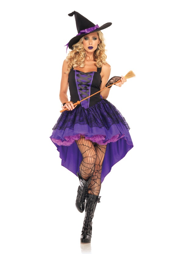 Broomstick Babe Sexy Witch Costume by Leg Avenue - Extra spooky and super sexy…