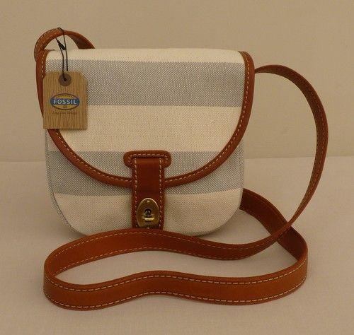 "Fossil Small Shoulder/Across Body Bag - ""Austin"" - BNWT - RRP £79 - NEW | eBay"