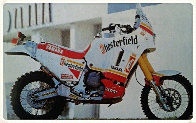 Yamaha chesterfield Franco Picco dakar 90