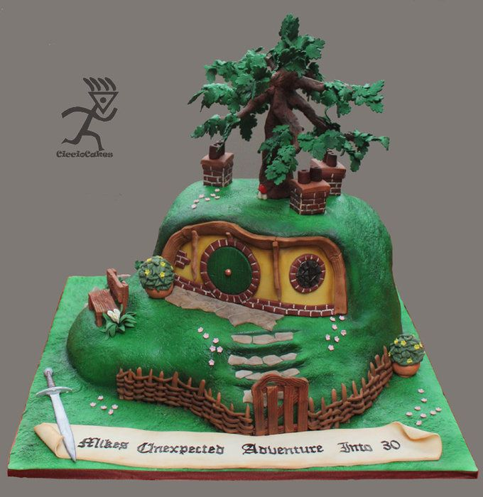 BagEnd House for a Hobbit....All Edible   Cake ideas ...