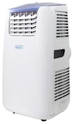 AC14100H Newair 14 000 BTU Portable Air Conditioner & Heater with Carbon Filter Remote Control LCD Display Panel and Dehumidifying Capabilities : White